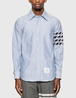 Thom Browne 4-Bar Oxford Shirt