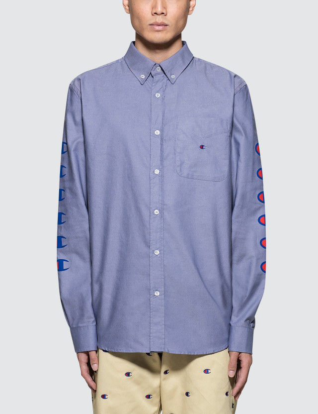 Champion Reverse Weave Beams x Champion Sleeves Logo Shirt