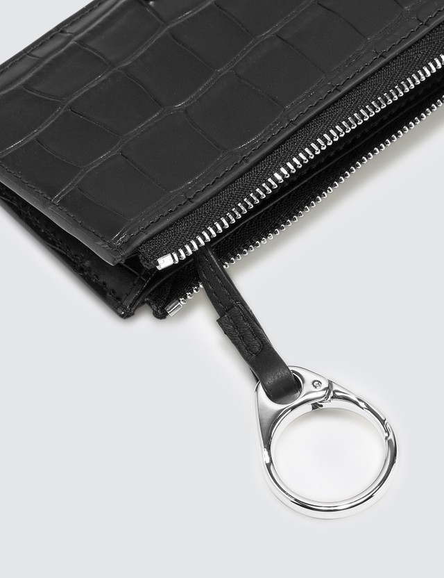 Alexander McQueen Large Zip Coin Card Holder
