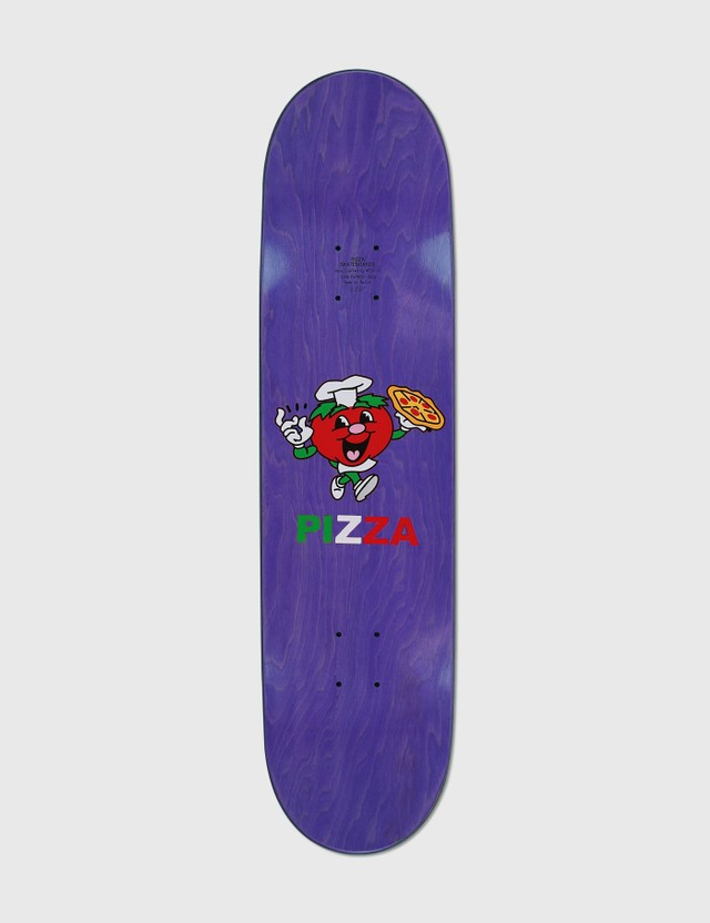 "Pizza Skateboards Frenz Skateboard Deck 8"" Multicolor Life"