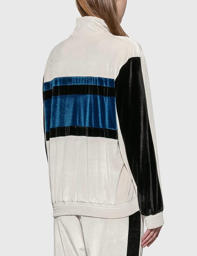 KOCHÉ Velvet Tracksuit Jacket