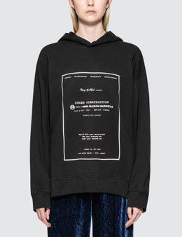 MM6 Maison Margiela Under Construction Hoodie