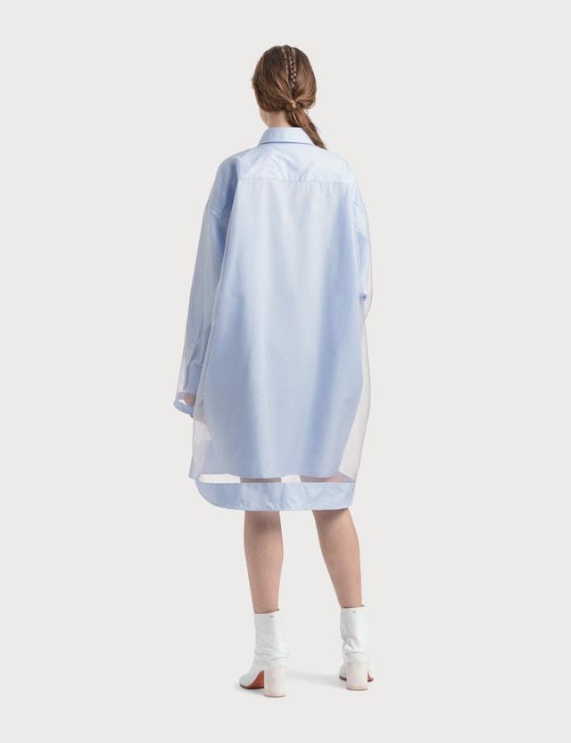 Maison Margiela Organza Shirt Dress