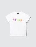 Versace Multicolor Versace Font T-Shirt (Toddler) Picture