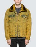 Alchemist Rocky with Fur Denim Jacket Picutre
