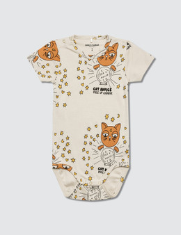 Mini Rodini Cat Advice S/S Body