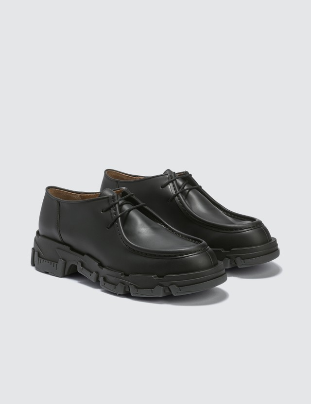 Lanvin Derby Shoes in Vegetal Calfskin