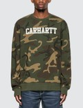 Carhartt Work In Progress College Sweatshirt Picture