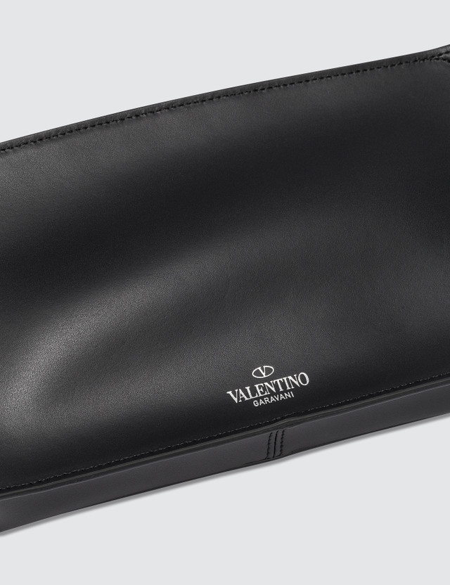 Valentino Black Vltn Waist Bag