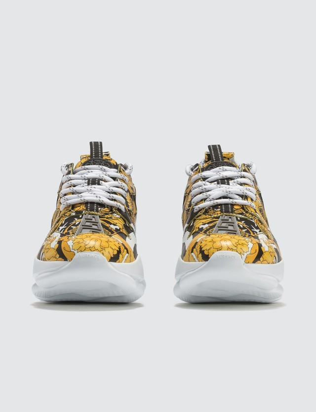 Versace Greek Key Reaction Sneakers