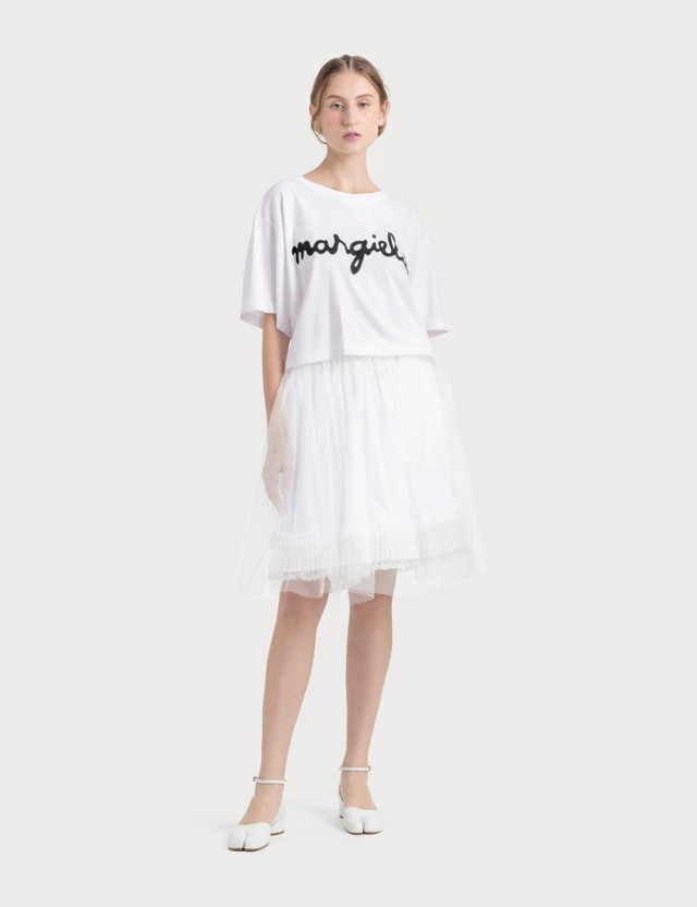 MM6 Maison Margiela Organza Shorts