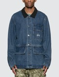 Stussy Denim Chore Coat Picutre