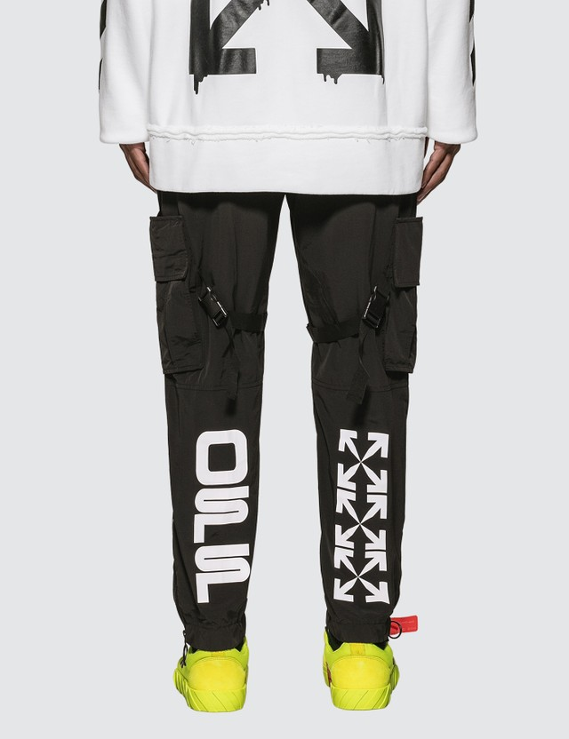 Off-White Nylon Cargo Pants