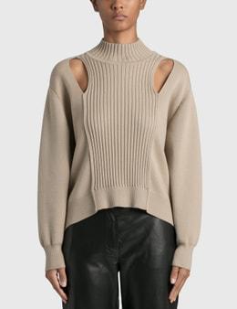Jonathan Simkhai Yvette Recycled Knitwear Turtleneck Pullover
