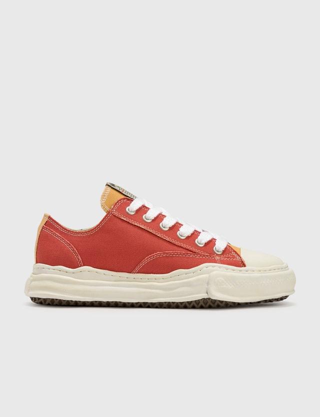 Maison Mihara Yasuhiro Original Sole Overdyed Lowcut Sneaker Orange Men