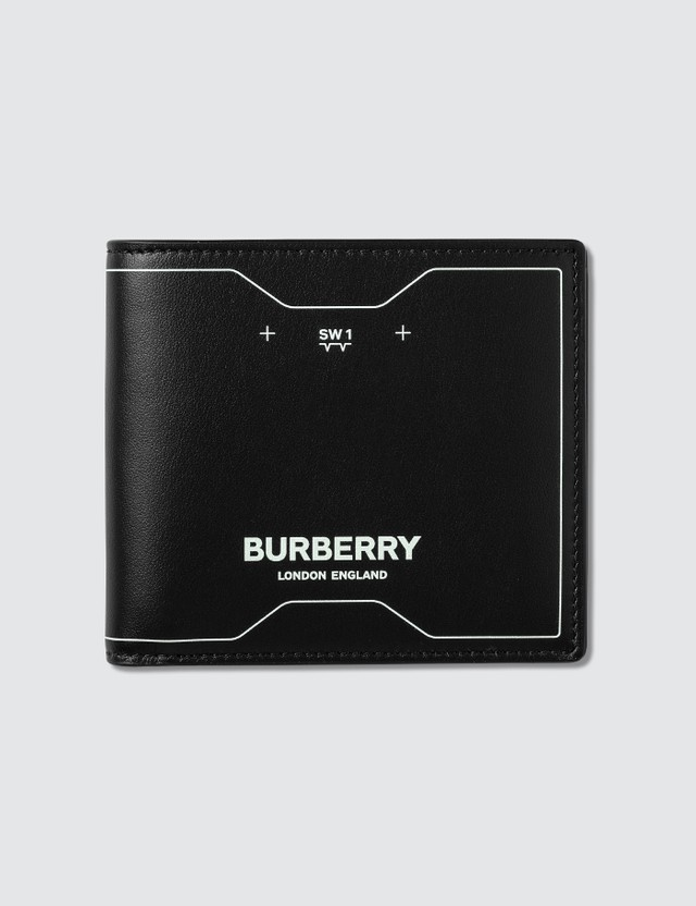 Burberry Symbol Print Leather Wallet