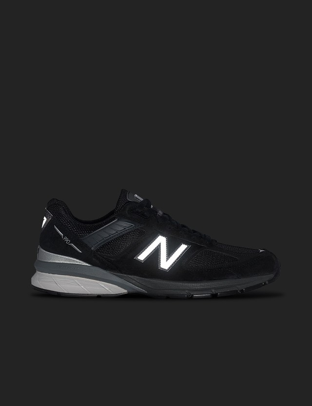 New Balance M990v5 Black - Made In The USA Black Men