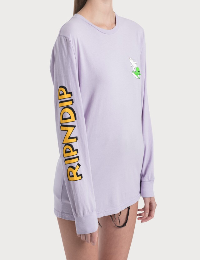 RIPNDIP Hang Ten Long Sleeve T-Shirt