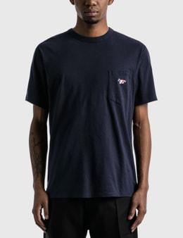 Maison Kitsune Tricolor Fox Patch Pocket T-shirt