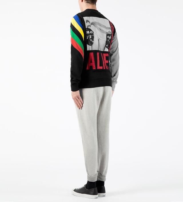 ALIFE - Black Champion Crewneck Sweater  341a3f340