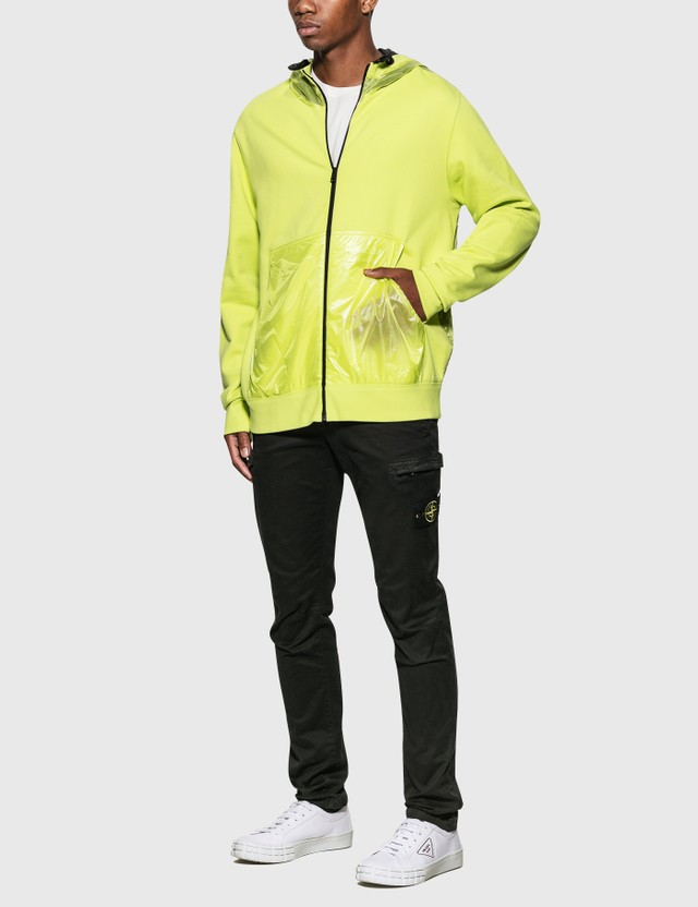 Moncler Genius Moncler Genius x Craig Green Hooded Cardigan Yellow Men