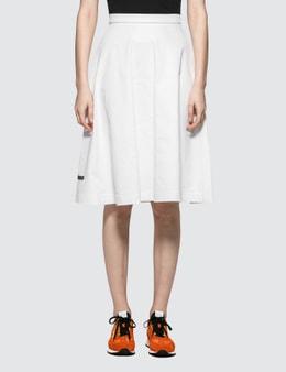 Prada A-Line Jersey Skirt