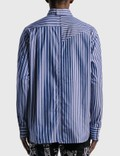 Sacai Cotton Poplin Shirt Random Stripe Men