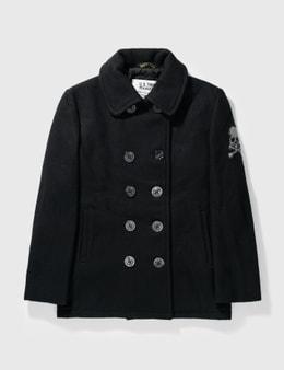 Mastermind Japan Mastermind Japan X Schott Bros Wool Double Breast Jacket