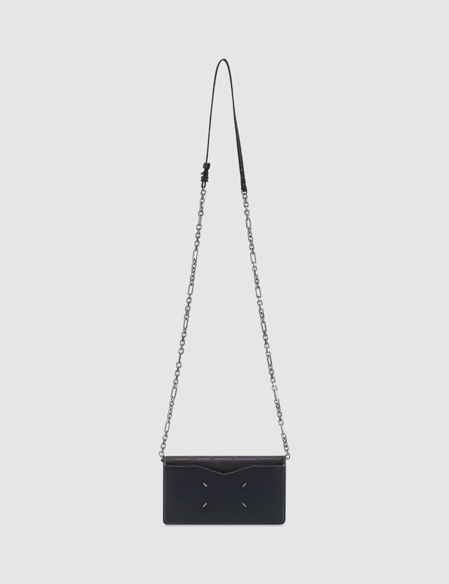 Maison Margiela Reflective Chain Cross Body Bag