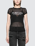 Helmut Lang Mesh Logo Baby Short Sleeve T-shirt Picture
