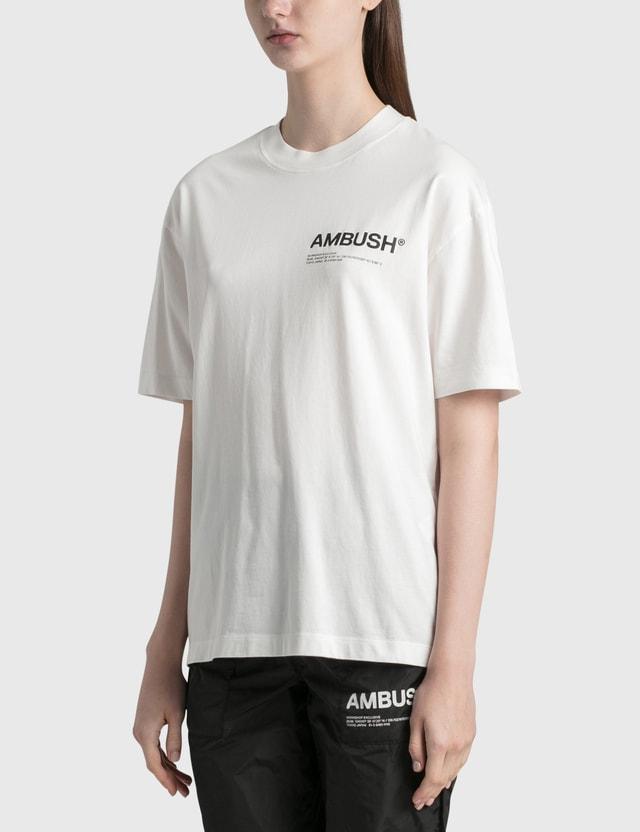 Ambush Jersey Workshop T-shirt White Women
