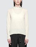Stussy Anna Long Sleeve Tissue Mock Neck Picture