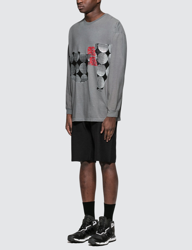 Some Ware Buggin On L/S T-Shirt (One Size) Light Grey Men