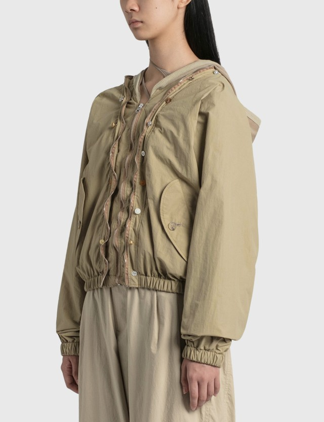 Hyein Seo Wavy Zip-up Blouson Sand Women