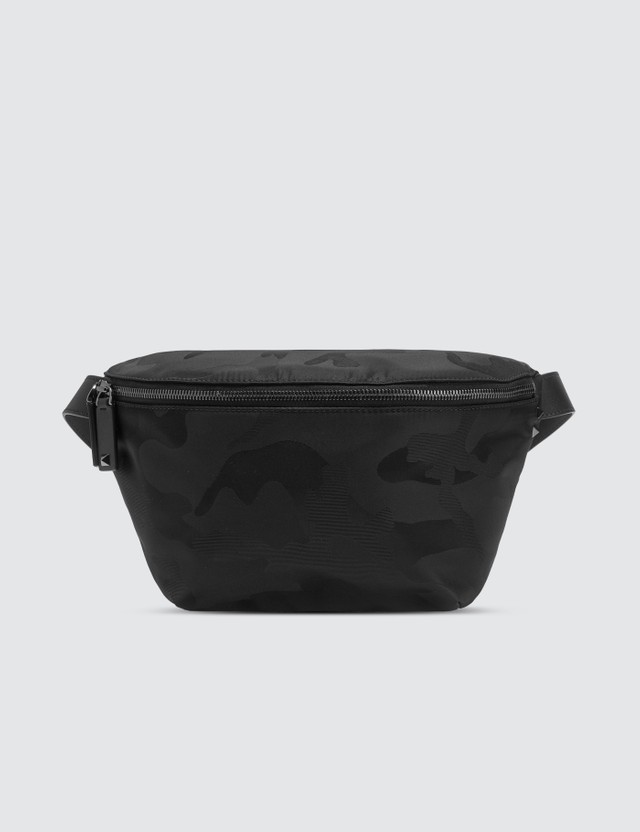 Valentino VLTN Camo Waist Satchel Bag