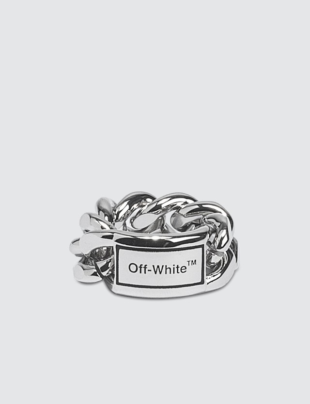 Off-White Sweetheart Ring
