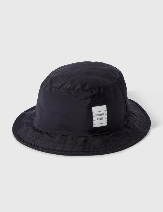 Thom Browne Classic Bucket Hat Navy Men