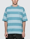 Polar Skate Co. Striped Surf T-shirt Picutre