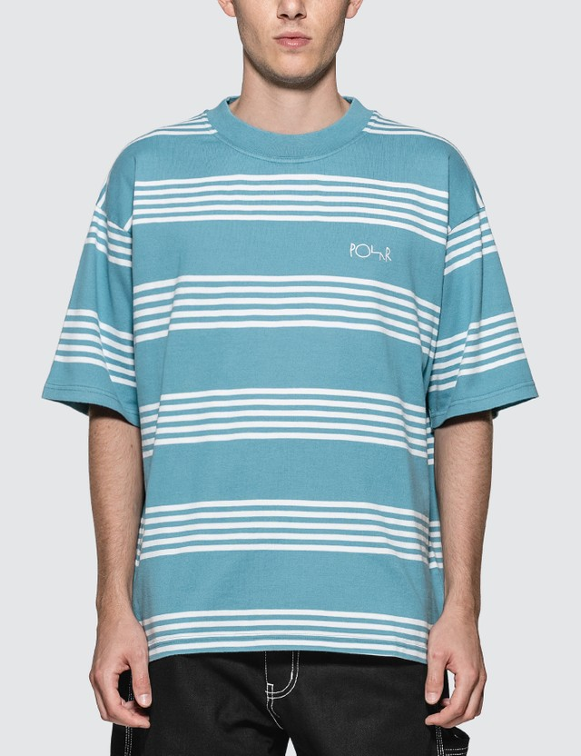 Polar Skate Co. Striped Surf T-shirt