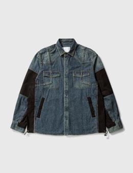 Sacai Denim Shirt Jacket