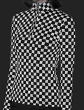 Misbhv Reflective Monogram Top Black Women