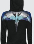 Marcelo Burlon Blue Wings Hoodie