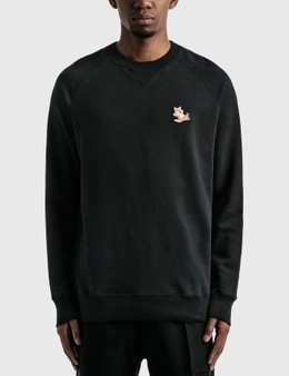 Maison Kitsune Chillax Fox Patch Classic Sweatshirt