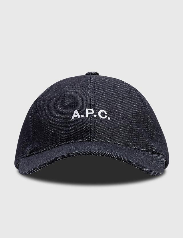 A.P.C. Charlie Cap Indigo Men
