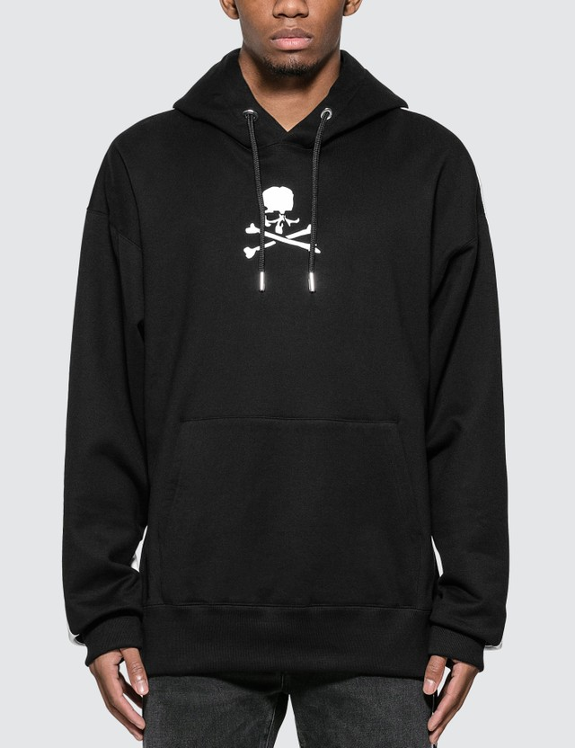 Mastermind World Skull Logo Print Hoodie With Back Panel