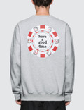 Have A Good Time Poker Chip Sweatshirt Picture