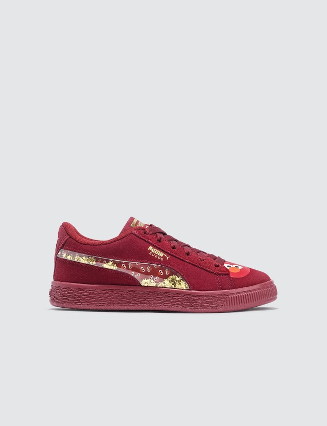 Puma Puma x Sesame Street 50 Suede Statement PS (Kids) White Kids