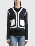 Maison Margiela Twinset Decorative Cardigan Picutre