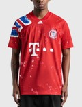 Adidas Originals Adidas x Pharrell Williams FC Bayern Human Race Jersey Picture
