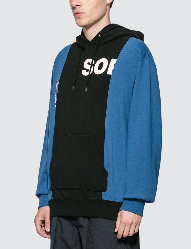 SOPHNET. Color Block Hoodie